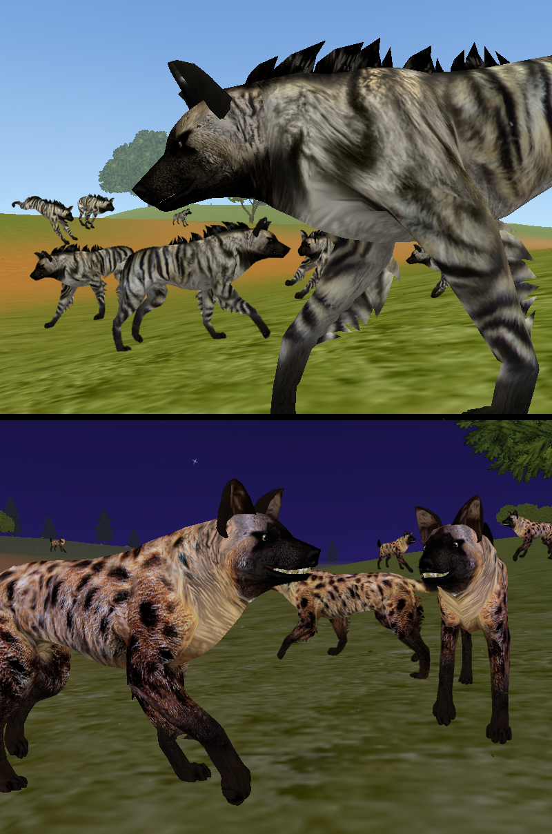 Feral Heart: Hyena Presets For You By Rikuko On DeviantArt