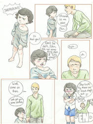 De-aged Sherlock by tophis1