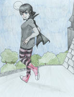 Little Miss Dracula by tophis1