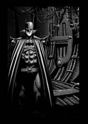 Batman Dark knight (greyscale version)