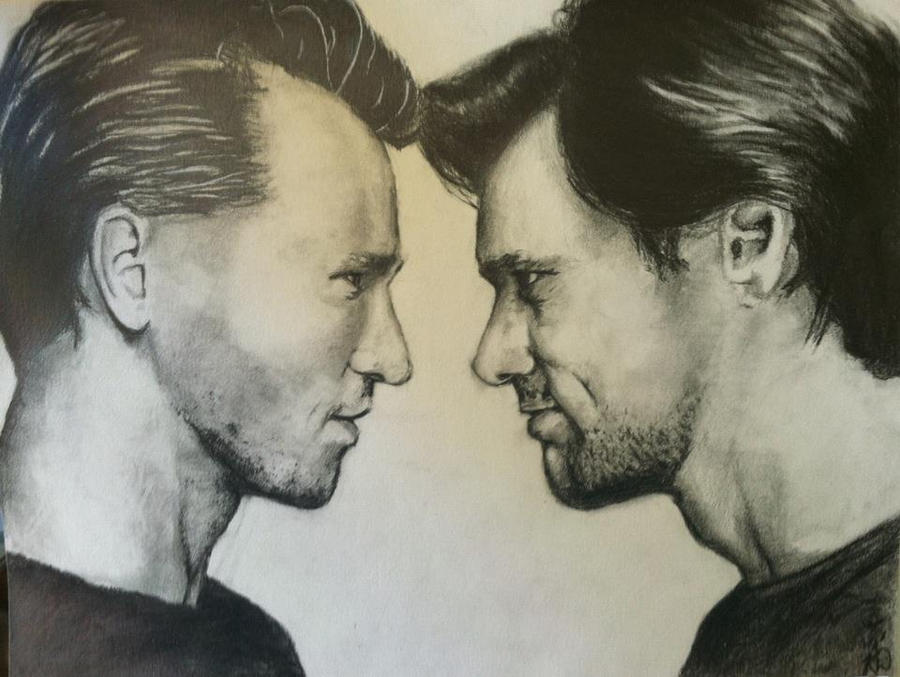 Val Kilmer and Jim Carrey by KadajKaiba