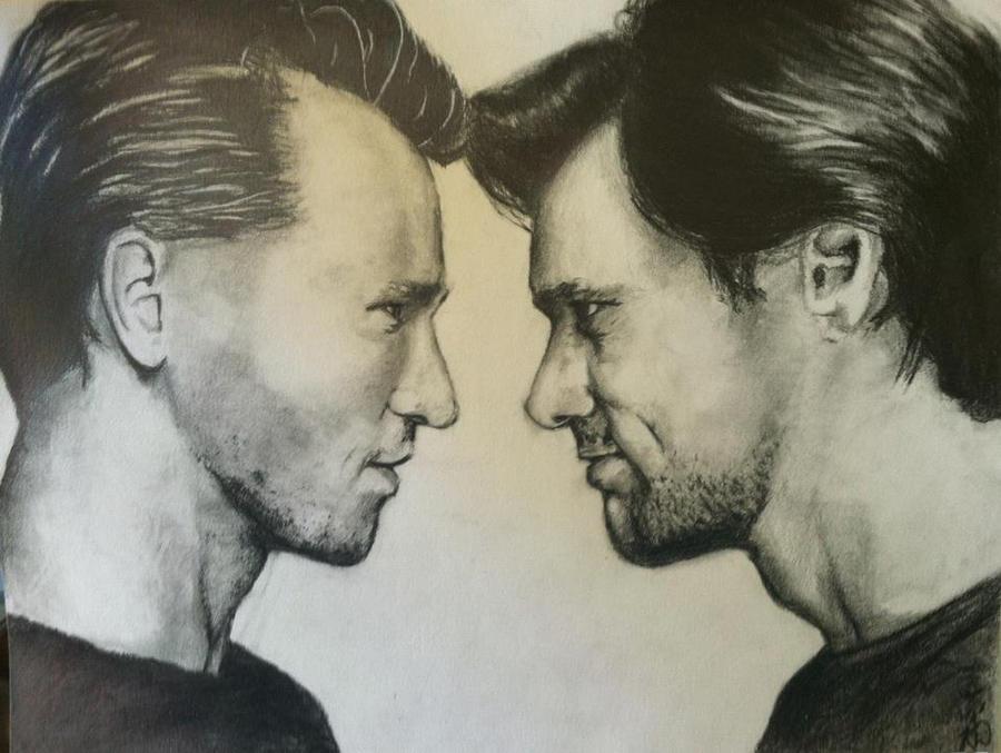 Val Kilmer and Jim Carrey by KadajKaiba
