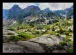 Rocky hills