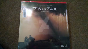 Twister laserdisc