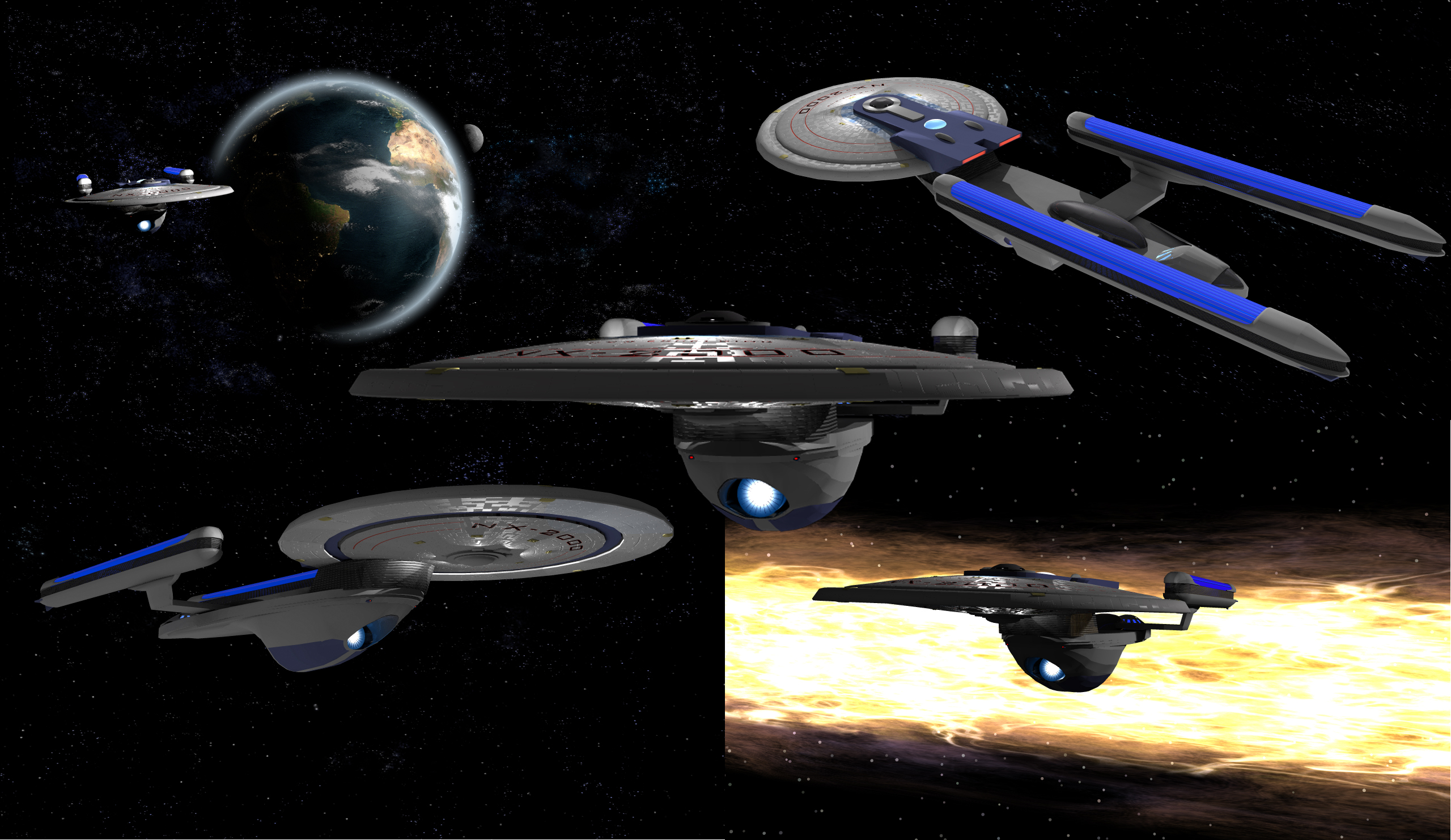 how to get to earth spacedock in star trek online