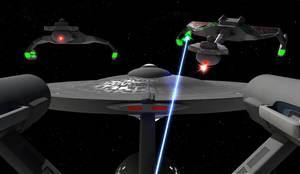 Klingon Attack by Hatvok