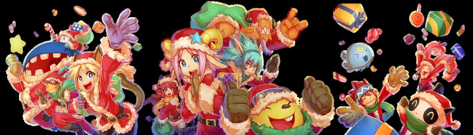 12Tails Christmas 2012 by Kyokimaru