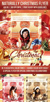 Naturally Christmas Flyer By Rewroc Interactive