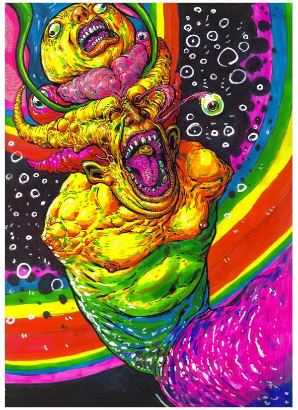 Смешные психоделические картинки