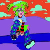 art trade with bobsy0849 ! by cyclopsbully