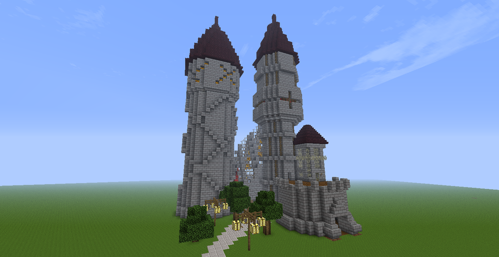 Minecraft Castle By Jonesyj49 On Deviantart