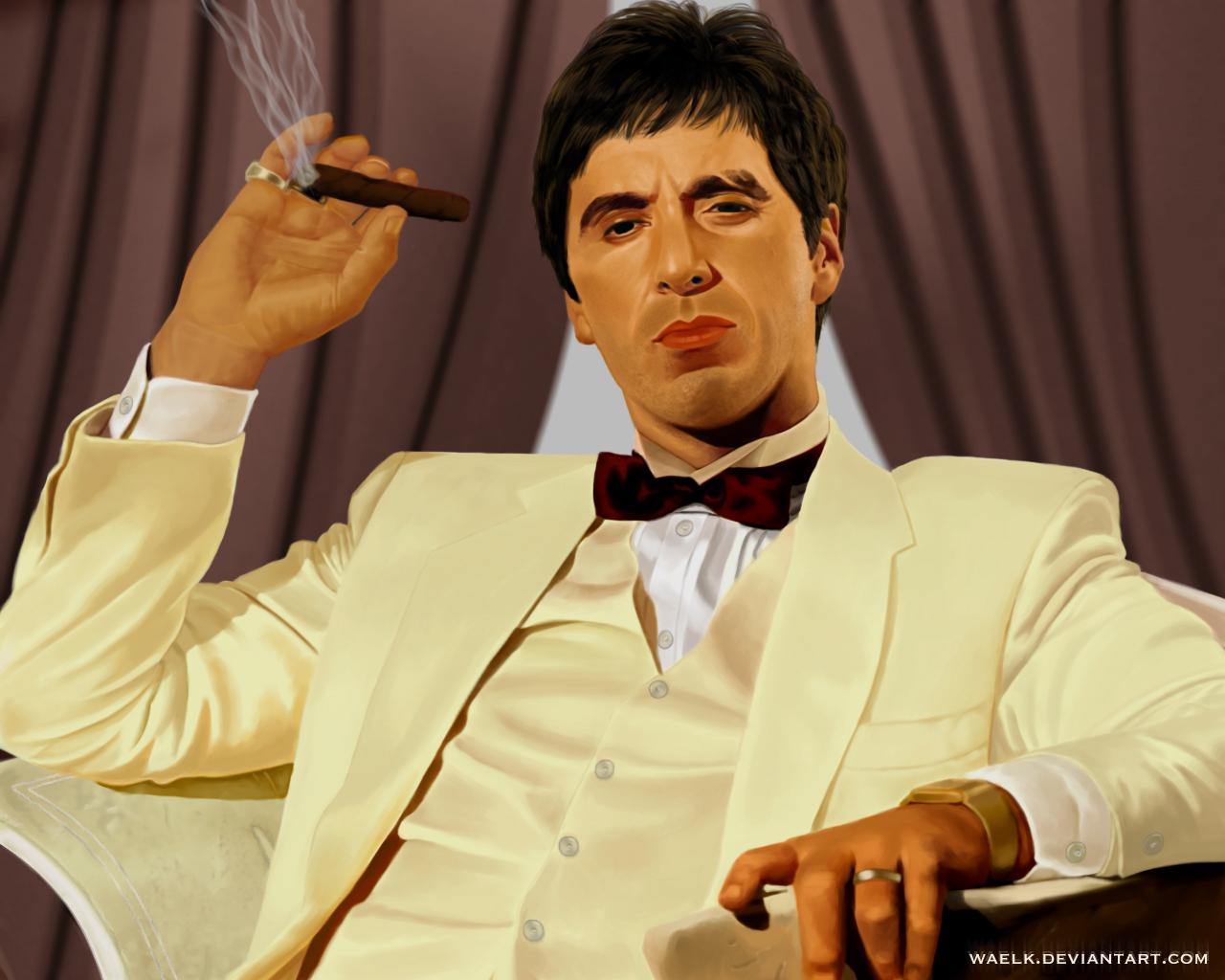 Scarface by WaelK on DeviantArt Al Pacino Scarface