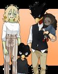 [BnHA OC] Tokoyami Family