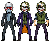 The Dark Knight Joker by JoshAMONGO