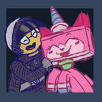 Good Cop and Unikitty Doodle