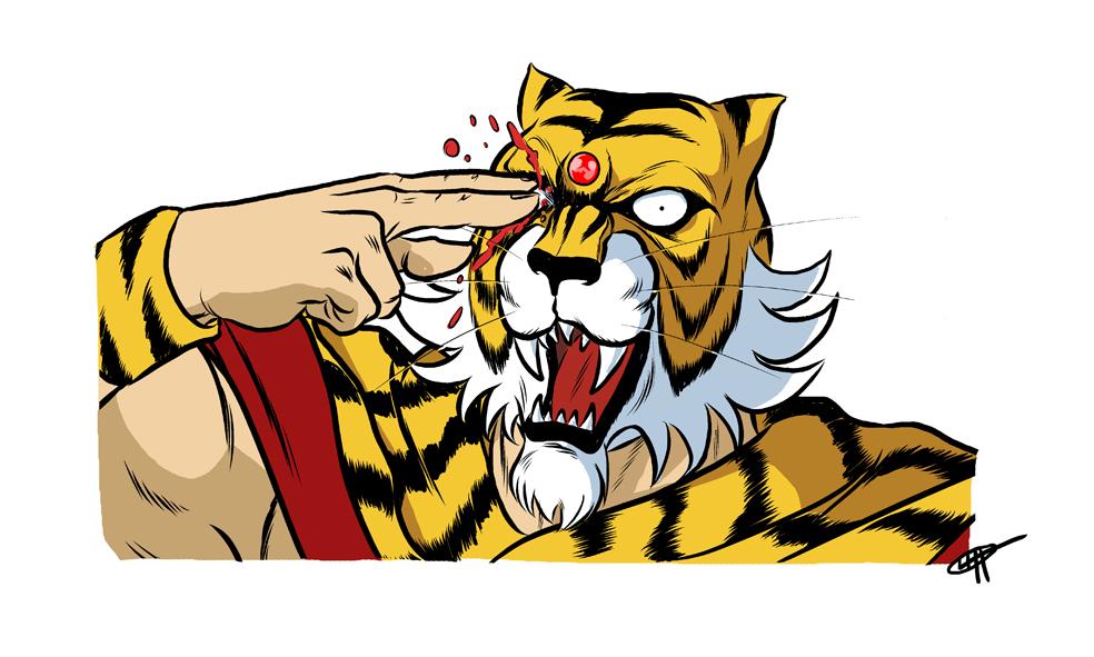 Tiger Mask II epic fail