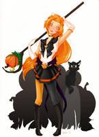 Sailor Pumpkin Commission by Saintn0body