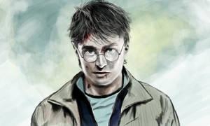 Harry Potter 7 part 2 progress by secretSWC