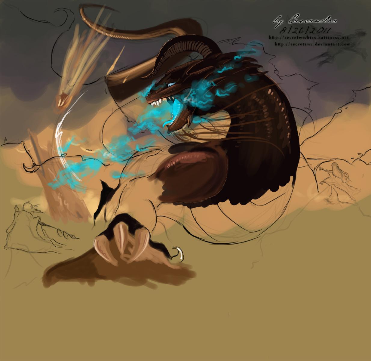 dragon preview by secretSWC