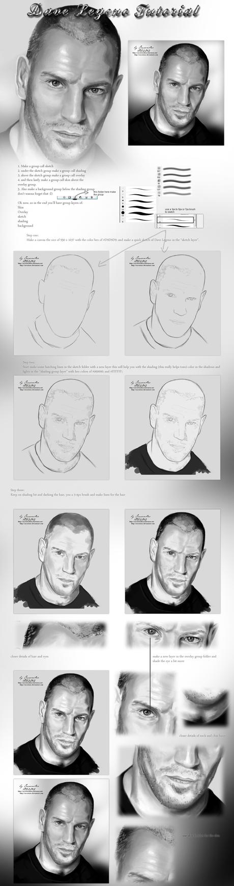 Dave Legeno tutorial by secretSWC