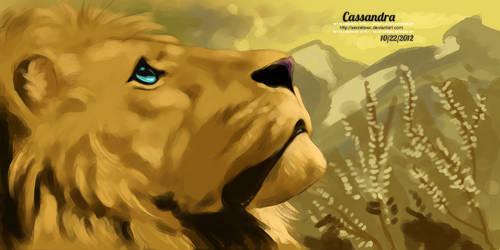 Lion by secretSWC