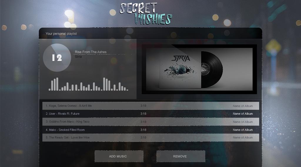 Music-Play-List by secretSWC
