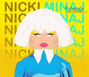 Nicki-Minaj by secretSWC