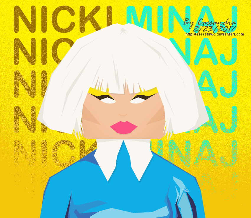 Nicki-Minaj by secretSWC