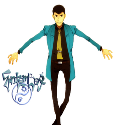 Lupin the Third - Render by EntemberDesigns