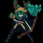 Huntress Wizard - Adventure Time - Render by EntemberDesigns