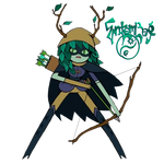Huntress Wizard - Adventure Time - Render by EntemberDesigns