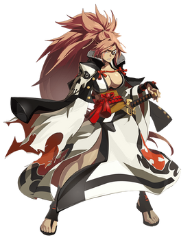 Baiken - Guilty Gear - Render