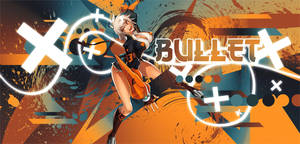 Bullet - BlazeBlue - Signature with Speed Art by EntemberDesigns