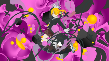 Maka Albarn - Soul Eater - Signature/Banner by EntemberDesigns