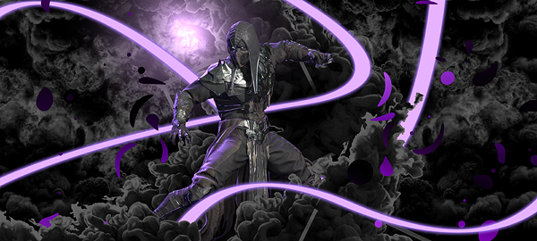 Noob Saibot - Mortal Kombat - Signature by EntemberDesigns