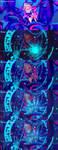 Dark Magician Girl - Collab ft. Ziznico by EntemberDesigns