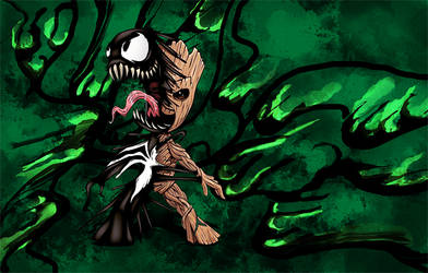 Baby Groot/Venom - Marvel - Signature
