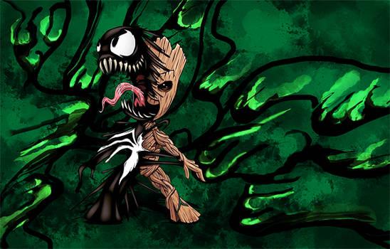 Baby Groot/Venom - Marvel - Signature