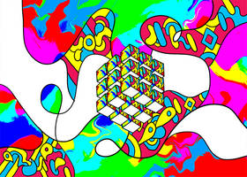 Psychedelic Cube - Signature