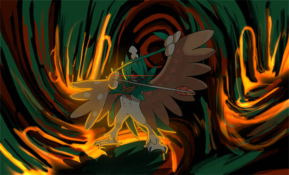 Pokemon - Decidueye - Signature (Speed Art)