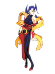 Street Fighter Alpha 3 - Rose - Render by EntemberDesigns