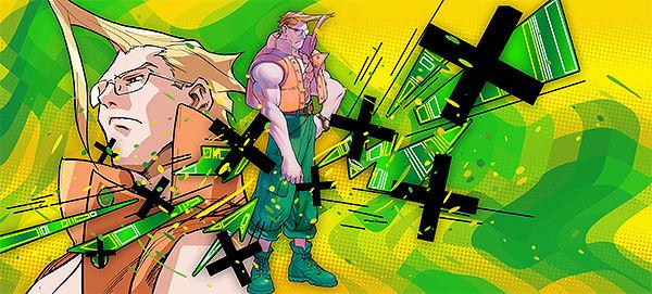 Street Fighter - Nash - Signature