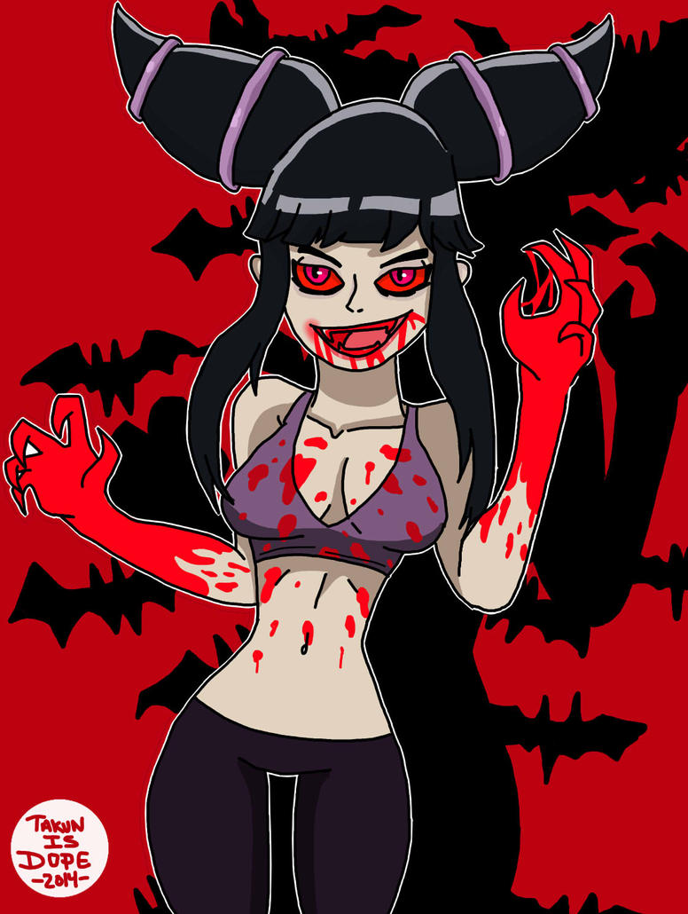 Vampire Juri by OUC
