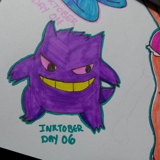 Inktober Day 6 by OUC