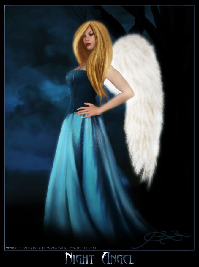 Night Angel by SilveryWitch