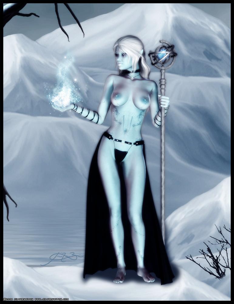 Winter Star by SilveryWitch