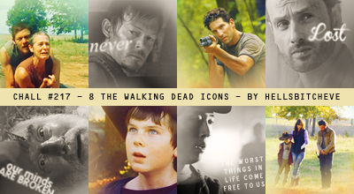 Live, Love, Laugh~ Evey's Gallery The_walking_dead_icons_by_halfdemonbitch-d4txzxr