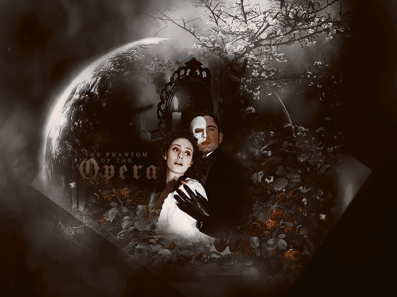 The phantom of the opera by Evey-V