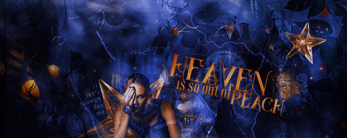 Heaven is so out of reach by Evey-V