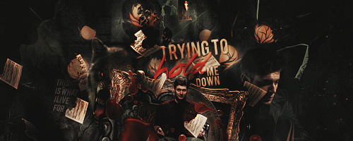 Trying To Hold Me Down by Evey-V